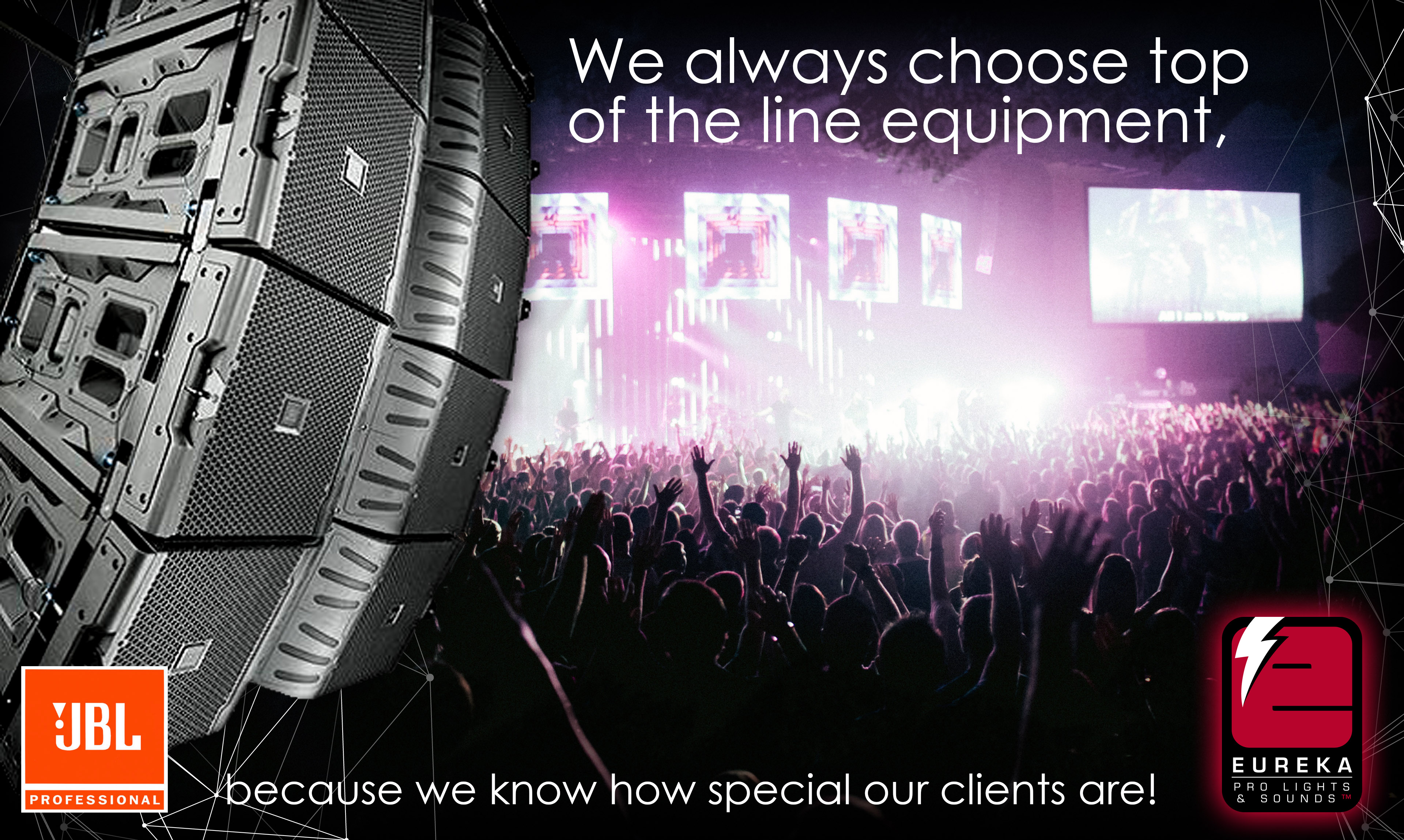 Eureka Pro Lights and Sounds